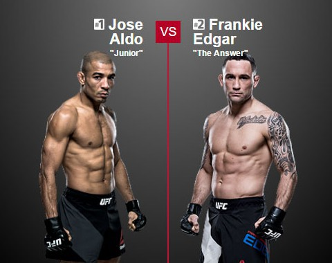 Preview: José Aldo vs Frankie Edgar (UFC - 9 July 2016)