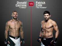 Preview: Donald Cerrone vs Patrick Coté (UFC - june,18 2016)