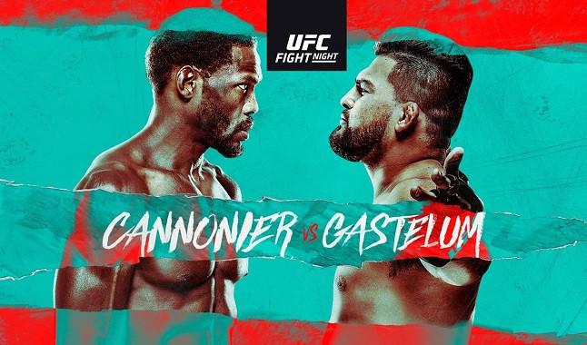 UFC Vegas 34: Cannonier vs Gastelum