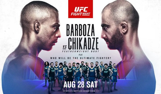 UFC Vegas 35: Barboza vs. Chikadze
