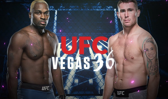 UFC Vegas 36: Brunson vs. Till