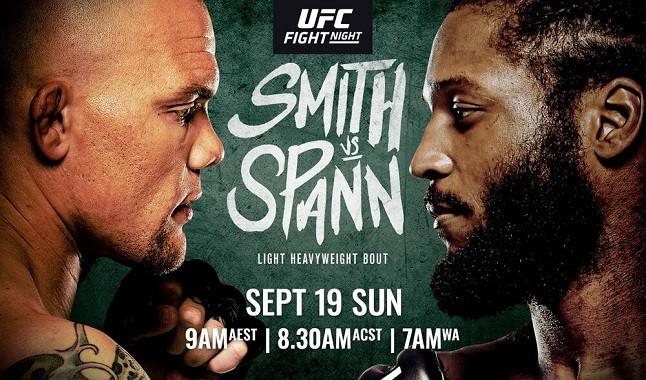 UFC Vegas 37: Smith vs. Spann