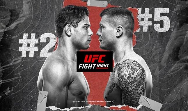 UFC Vegas 41: Borrachinha vs Vettori