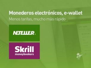 Uso de monederos electrónicos Neteller y Skrill para administrar sus apuestas