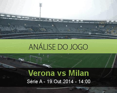 Análise do jogo: Hellas Verona vs AC Milan (19 Outubro 2014)