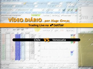 Chile vs Venezuela - vídeo completo de trading na Betfair