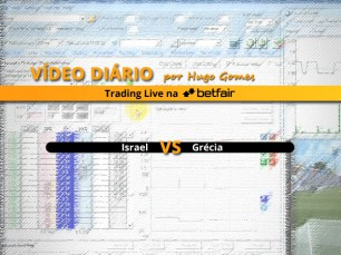 Vídeo comentado de Trading ao Vivo na Betfair: jogo Israel vs Grécia
