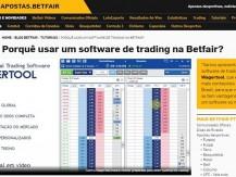 Wagertool: o software de trading recomendado pela Betfair Brasil