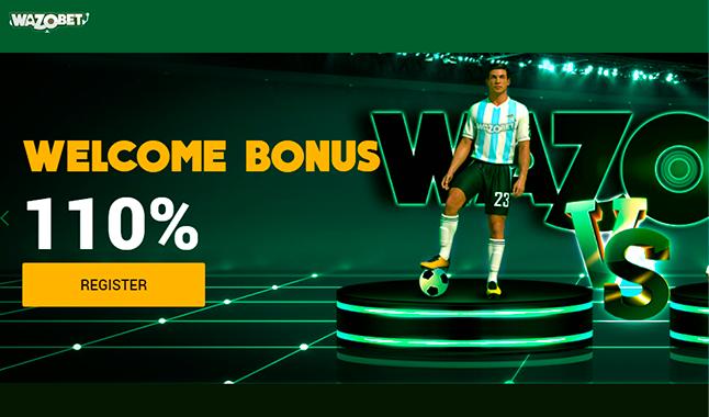 Wazobet Welcome Bonus up to 50,000NGN