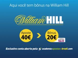 WilliamHill - Como abrir conta, melhor bônus, tutorial e análise