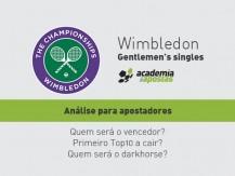Análise do Wimbledon 2019 Masculinos, para apostadores (vídeo)