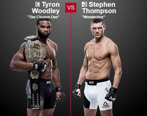 Tyron Woodley x Stephen Thompson (UFC – 12 de Novembro de 2016)